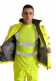 High Visibility Plain Bomber Jacket